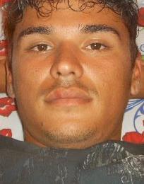 Fabricio Lopes, segurança agredido por Marcelo Faria (Foto: Reprodução/Reprodução)