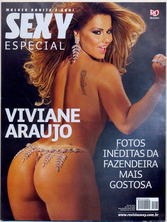 Viviane Araújo na Revista Sexy (Foto: Divulgação / Revista Sexy)