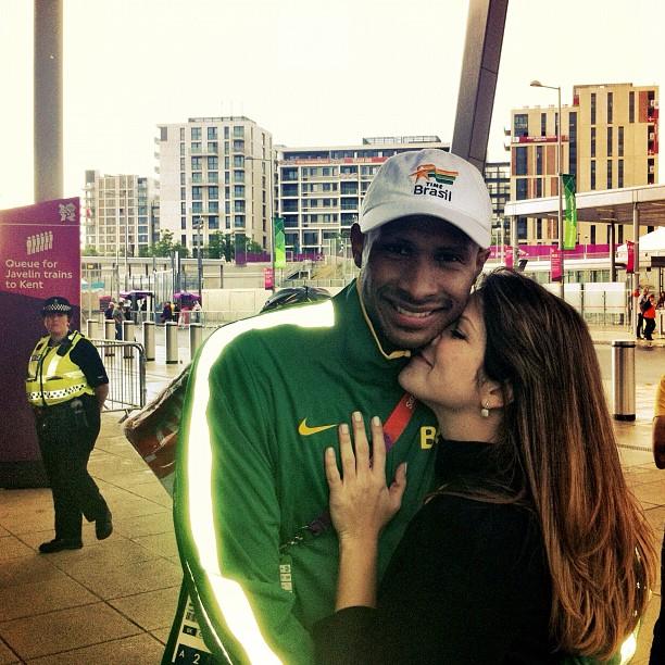 Samara Felippo em Londres, Olimpiadas 2012 (Foto: Instagram/Reprodução)