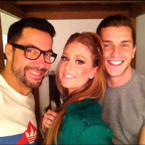 Fernando Torquatto, Marina Ruy Barbosa e Klebber Toledo (Foto: Instagram/ Reprodução)