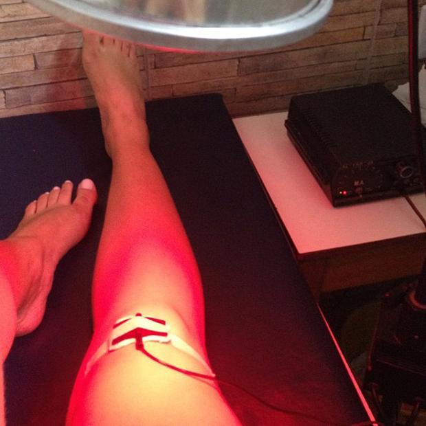 Mulher Melancia posta foto da fisioterapia (Foto: Instagram / Reprodução)