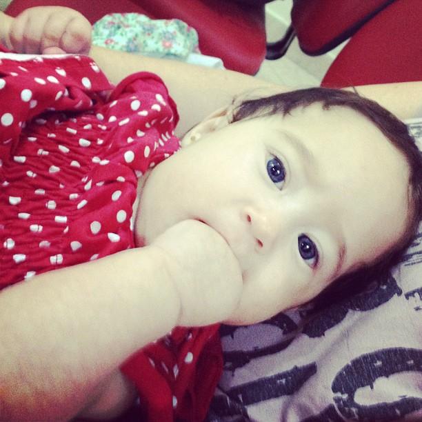 Perlla posta foto da filha, Pérola (Foto: Reprodução/Instagram)