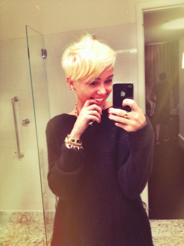 Miley Cyrus (Foto: Reprodução/Twitter)