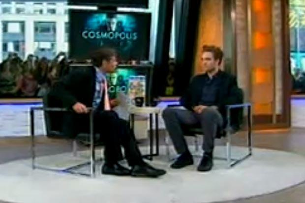 Robert Pattinson (Foto: Reprodução /  Good Morning America)