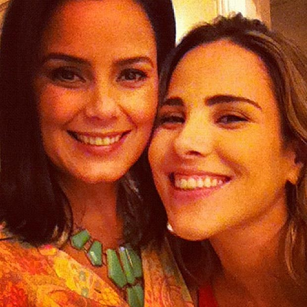 Luciele Di Camargo e Wanessa (Foto: Twitter/Reprodução)
