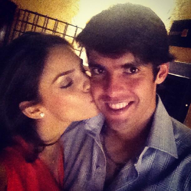 Carol Celico e Kaka (Foto: Instagram/Reprodução)