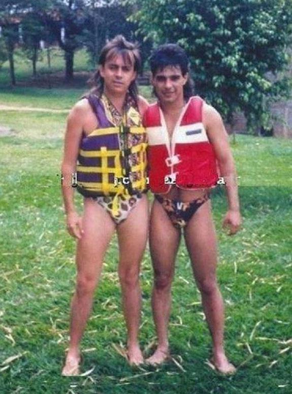 Chitãozinho e Zezé Di Camargo (Foto: Reprodução)