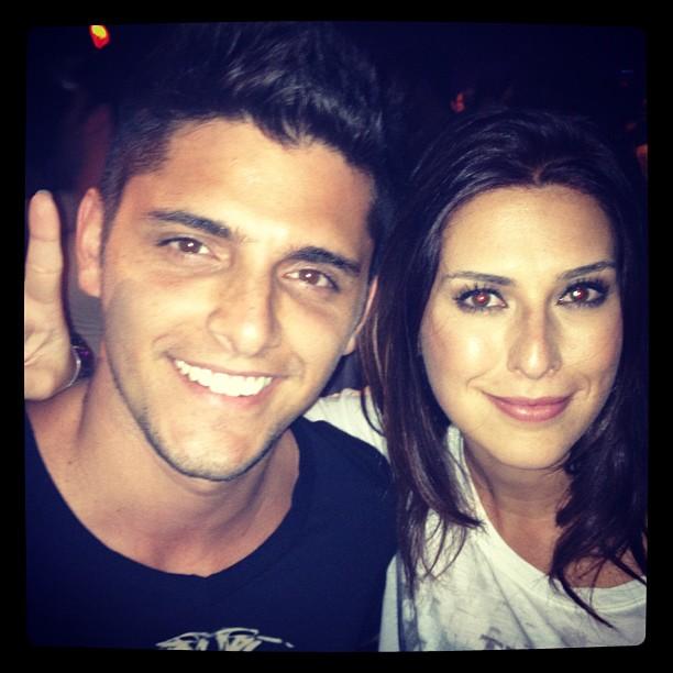 Bruno gissoni e Fernanda Paes Leme (Foto: Reprodução/Twitter)