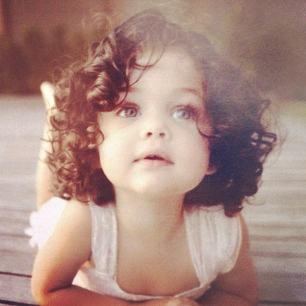 Newborn Baby Girl Dark Hair EGO - Rafael Almeida f...