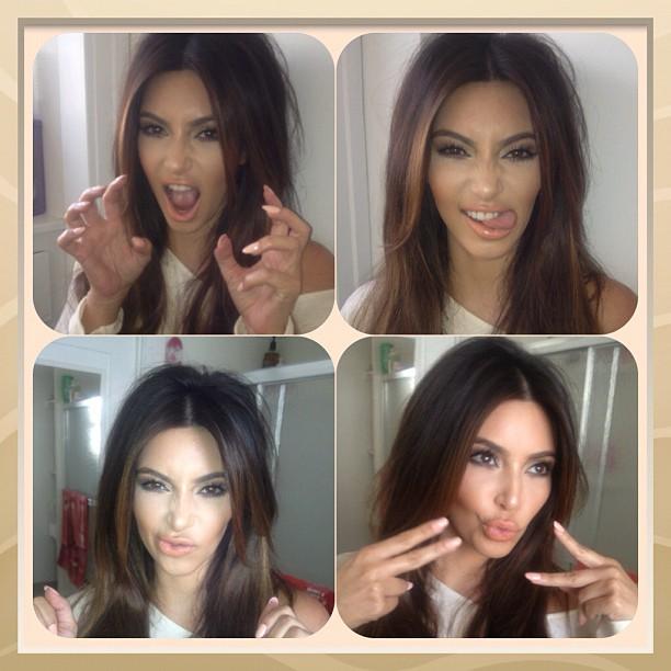 Kim Kardashian (Foto: Instagram/ Reprodução)
