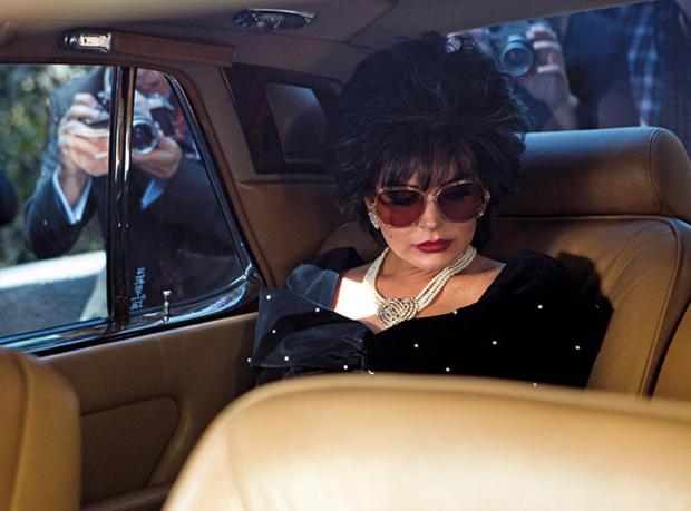 Lindsay Lohan como Elizabeth Taylor (Foto: Jack Zeman/Lifetime)