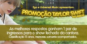 Taylor Swift promoção (Foto: EGO)