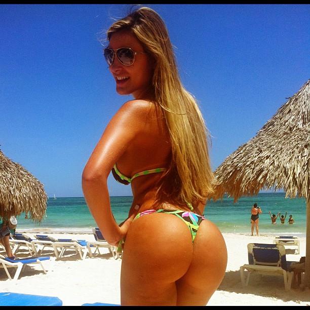 Andressa Urach em Punta Cana, na República Dominicana (Foto: Instagram/ Reprodução)