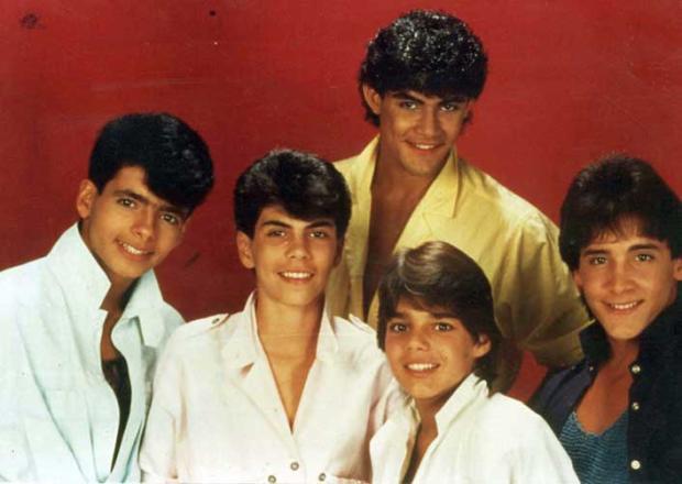Grupo Menudo na década de 80 (Foto: Reprodução)