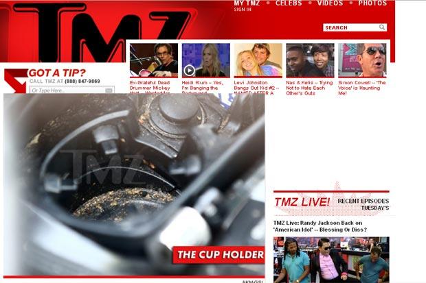 Amanda Bynes é flagrada fumando maconha e dirigindo sem licença por Los Angeles (Foto: Reprodução/TMZ)