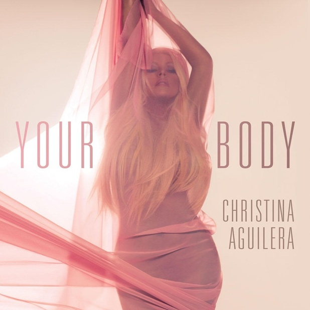 Capa do novo single de Christina Aguilera, 'Your Body' (Foto: Reprodução)