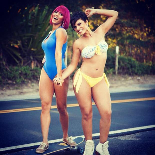 Babi Rossi e Thais Bianca (Foto: Instagram / Reprodução)