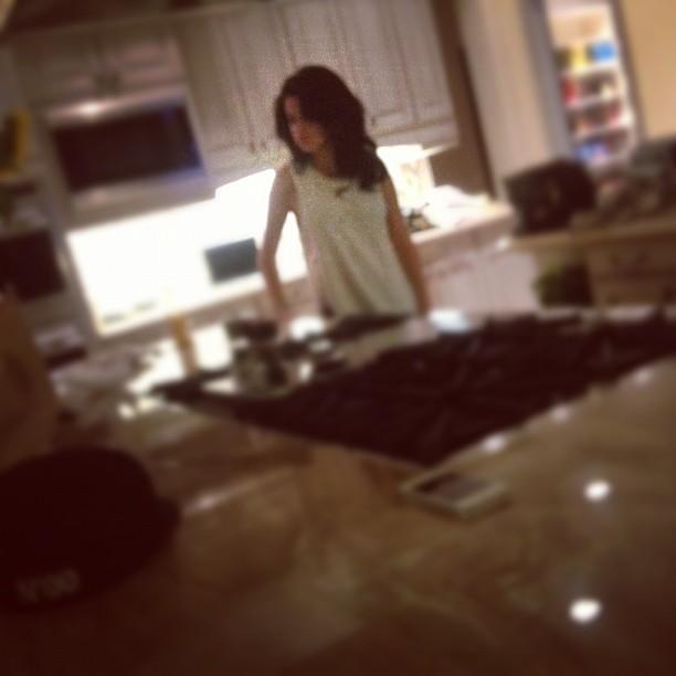 Selena Gomez em foto postada por Justin Bieber (Foto: Instagram/ Reprodução)