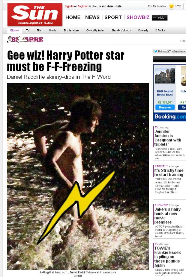 Daniel Radcliffe (Foto: Reprodução)