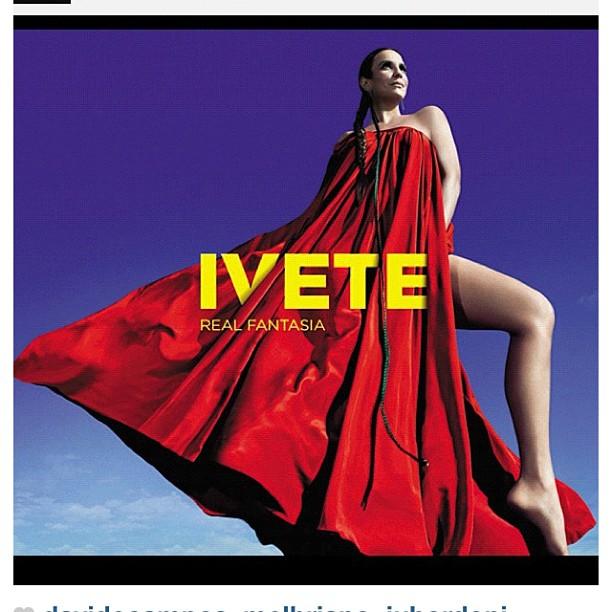 Ivete Sangalo na capa do novo disco (Foto: Reprodução/Instagram)