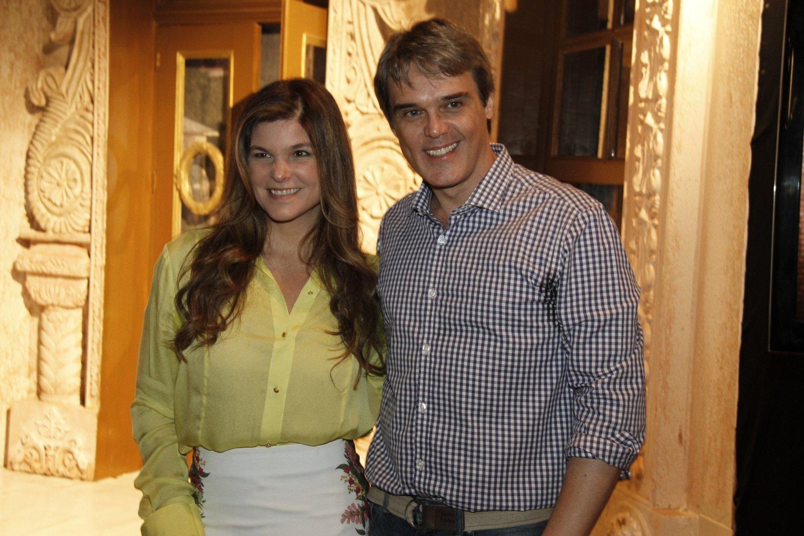 Cristiana Oliveira e Dalton Vigh