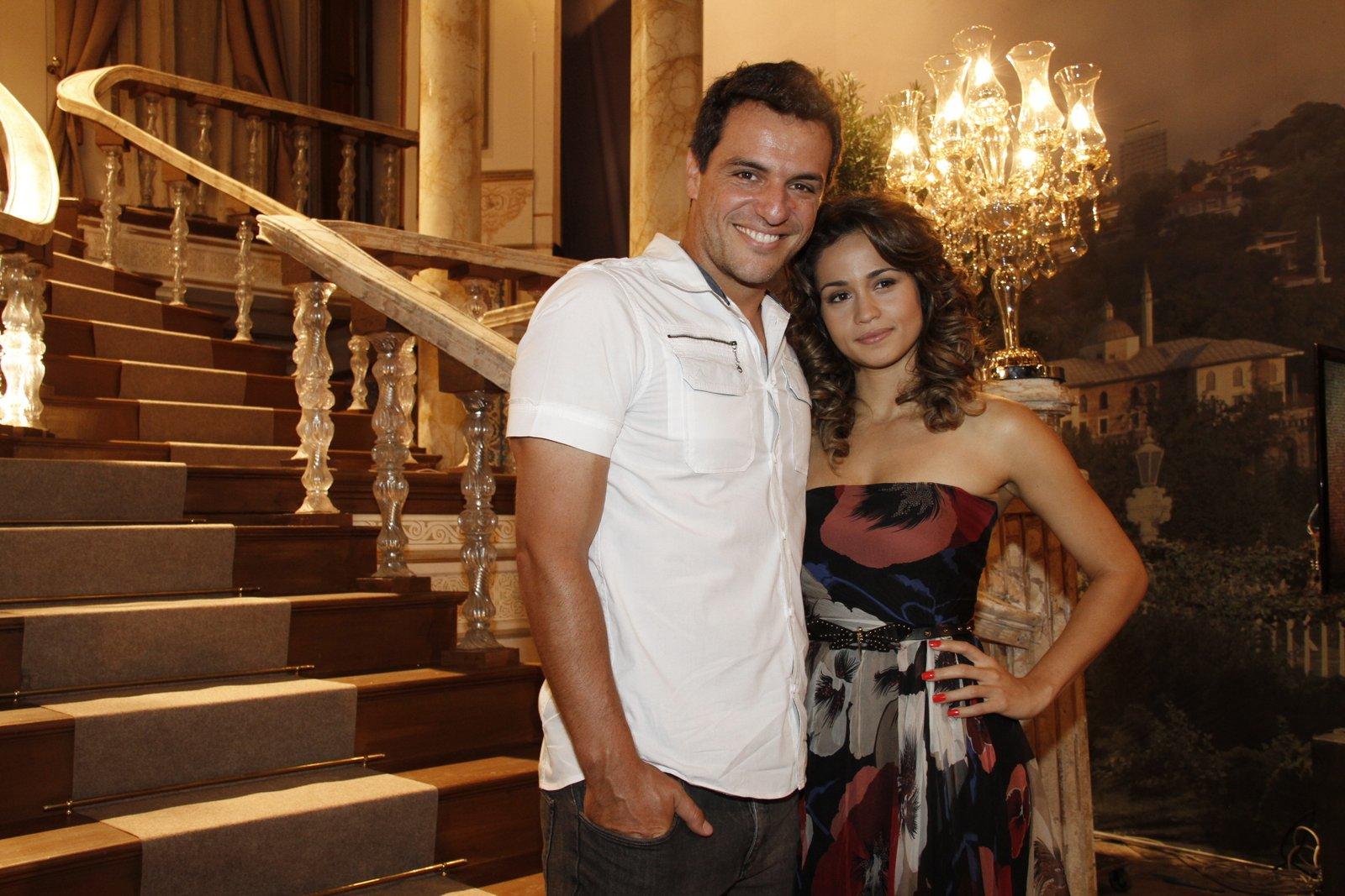 Rodrigo Lombardi e Nanda Costa