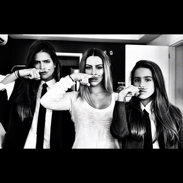 Antônia, Cleo e Ana Pires (Foto: Reprodução/instagram)