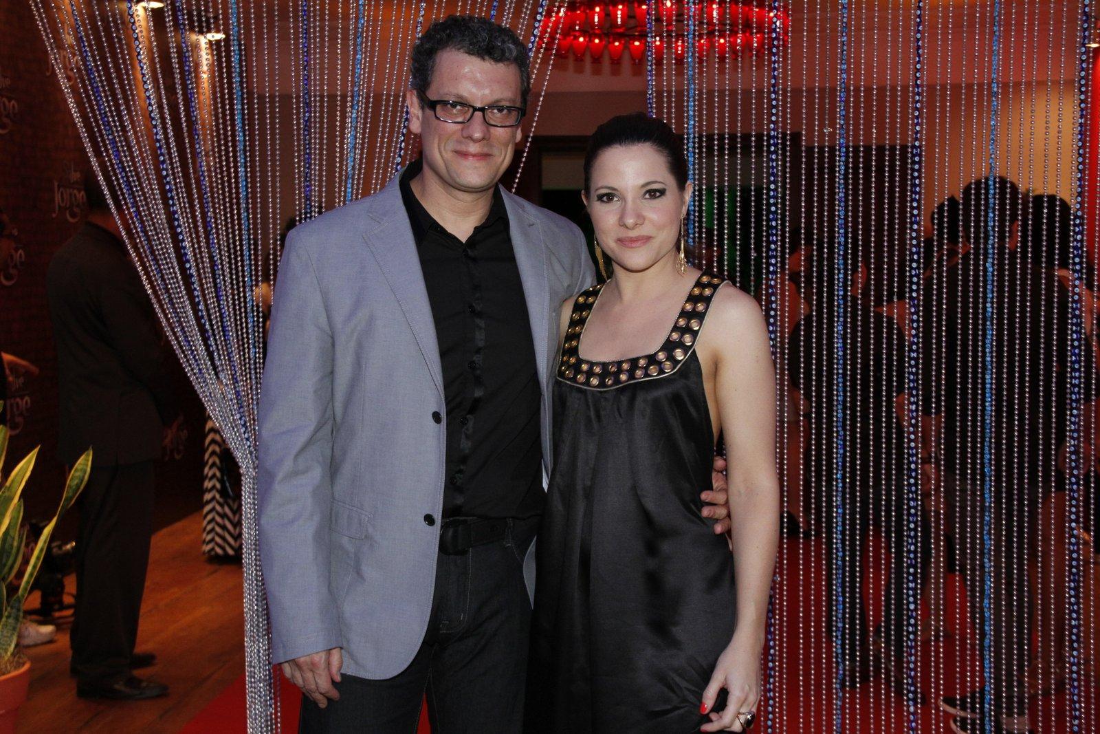 Marcello Airoldi e a mulher
