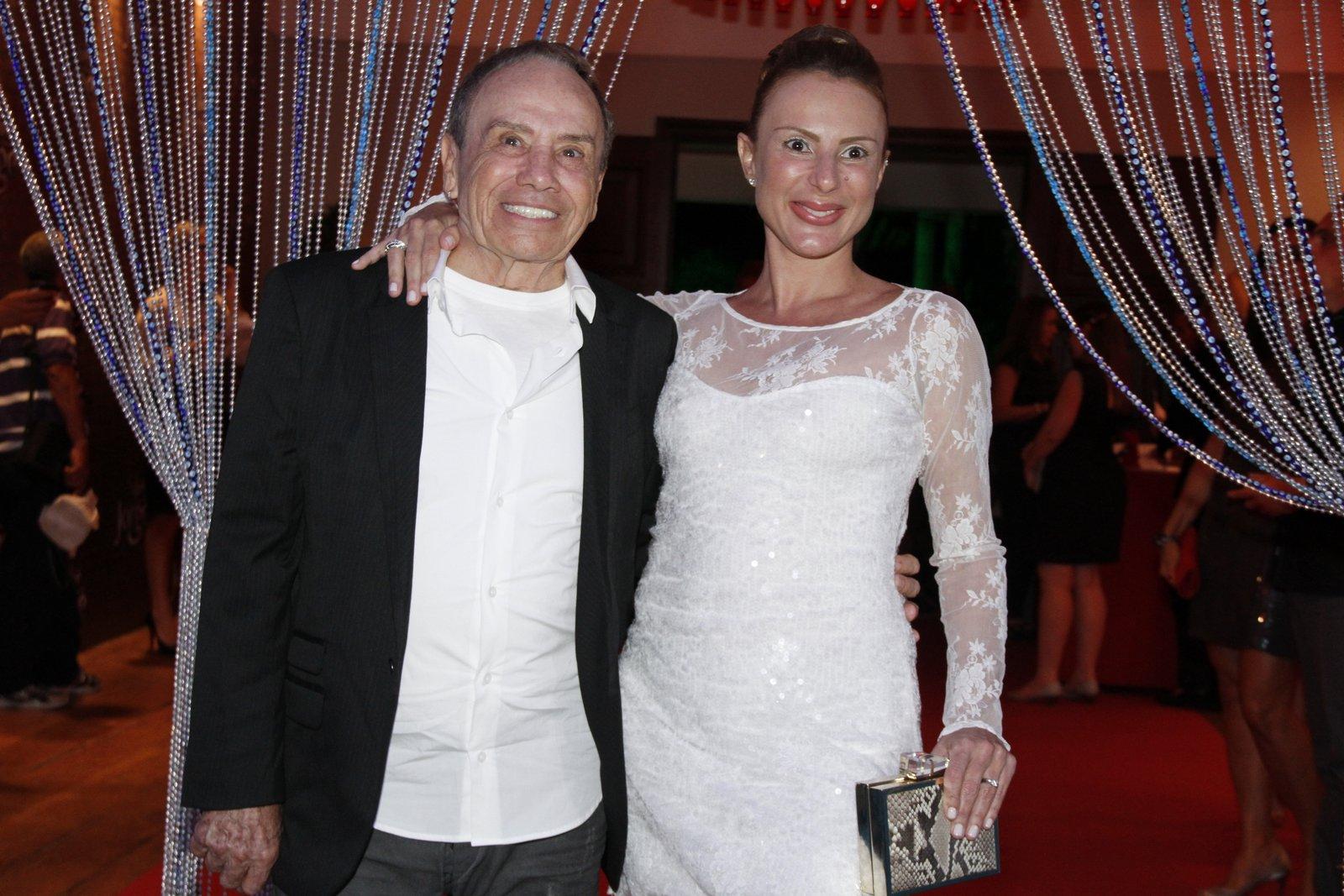 Stênio Garcia e a mulher, Marilene Saad