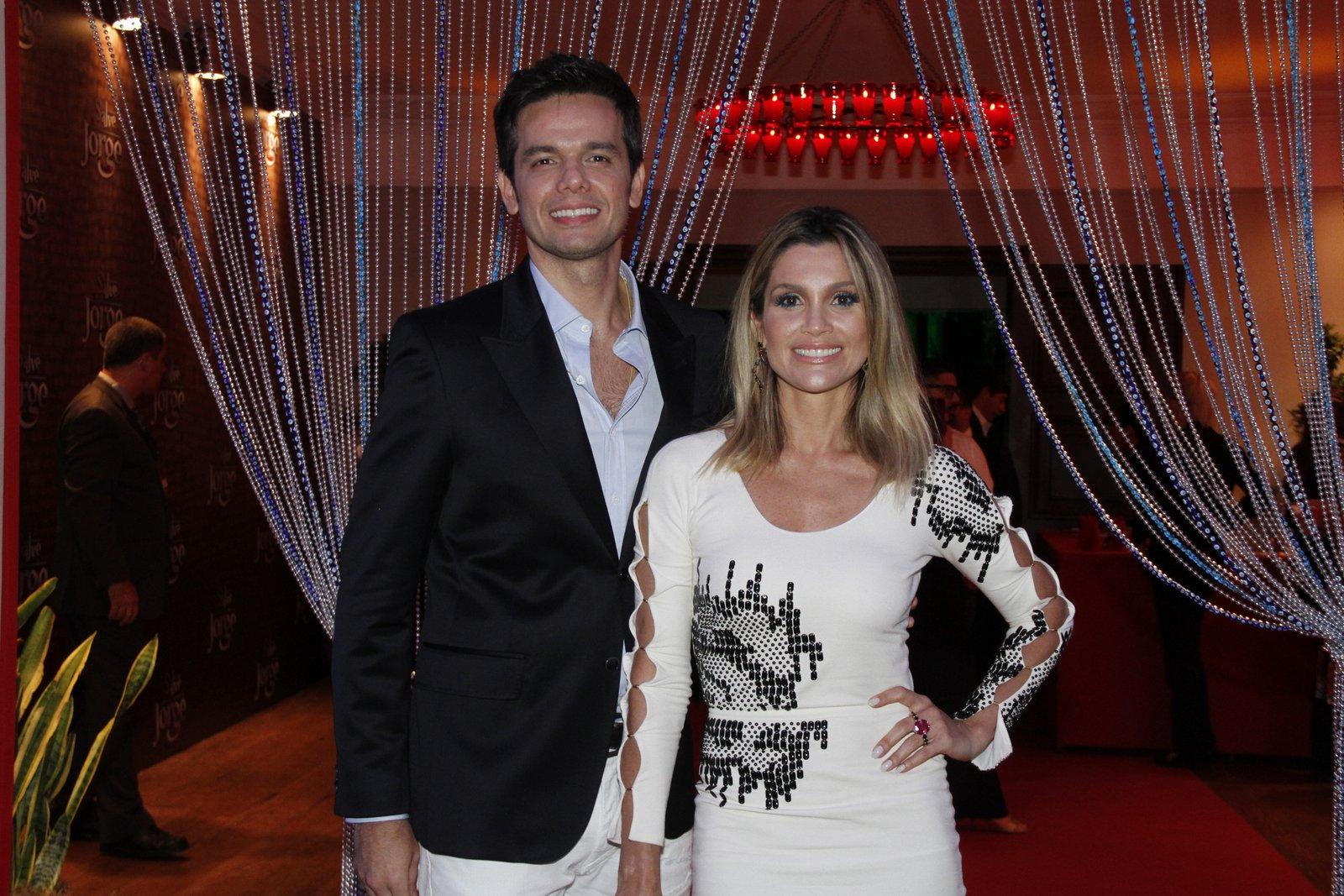 Otaviano Costa e Flávia Alessandra