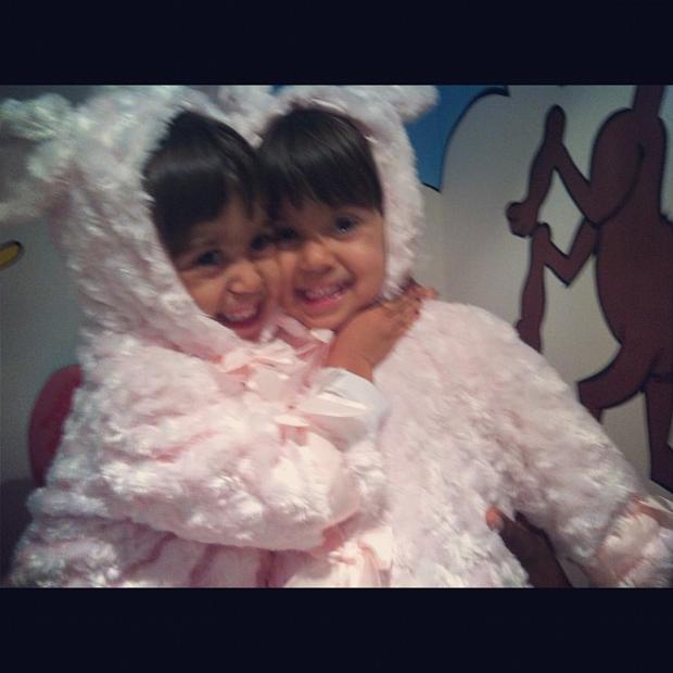 Giovanna Antonelli posta foto das gêmeas (Foto: Instagram / Reprodução)
