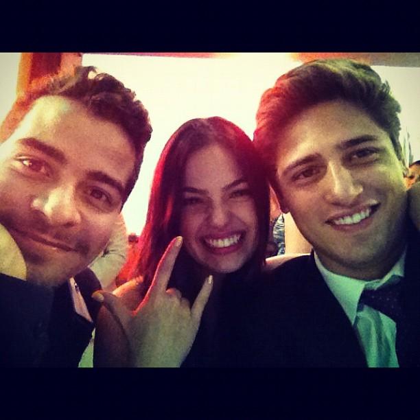 Thiago Martins, Isis Valverde e Daniel Rocha (Foto: Instagram / Reprodução)