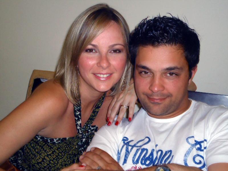 Daniella Faria e o marido, o músico Rick, se conheceram em um reality show de Portugal em 2002
