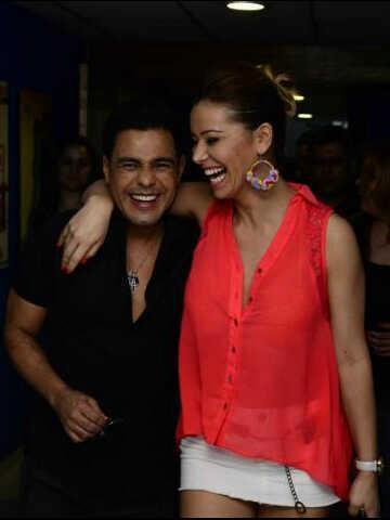 Zezé Di Camargo e Liliana Alvarez (Foto: Reprodução/Facebook)