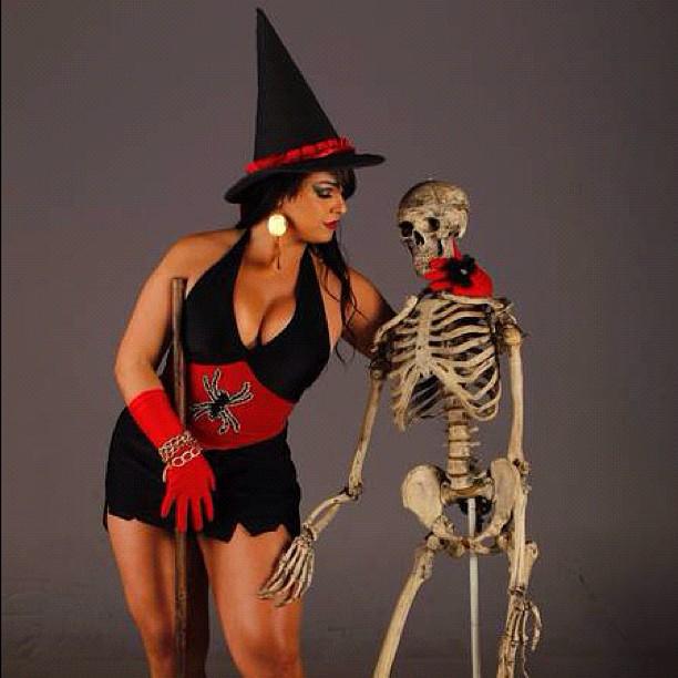 Mulher Melancia no Halloween (Foto: Reprodução/ Instagram)