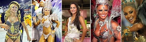 Bruna Almeida, Raíssa, Bruna Bruno, Viviane Araújo e Sabrina Sato (Foto: Reprodução/Reprodução)