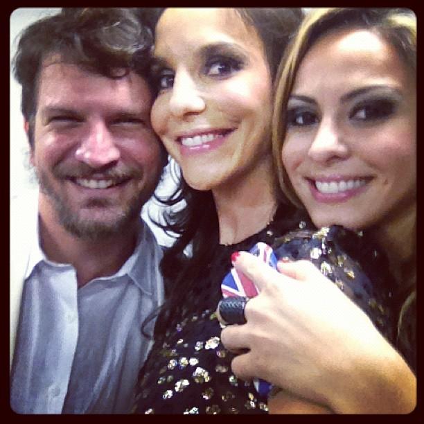 Saulo Fernandes, Ivete Sangalo e Alinne Rosa (Foto: Instagram/ Reprodução)