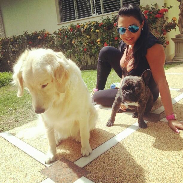 Gracyanne Barbosa e cachorros (Foto: Reprodução/ Instagram)