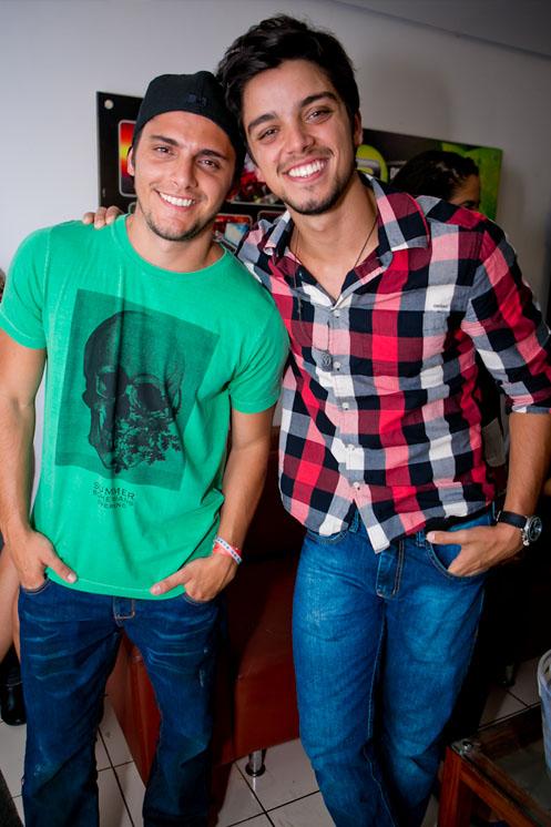 Bruno Gissoni e Rodrigo Simas (Foto: Wanderson Monteiro/ Divulgação)