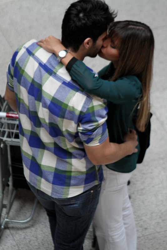 Adriana e Rodrigao (Foto: Henrique Oliveira/Fotorio News)