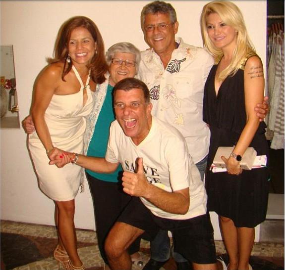 Nivea Stellman homenageia Marcos Paulo (Foto: Reprodução/ Instagram)