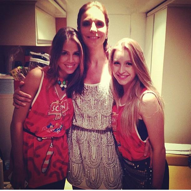 Pérola Faria, Ivete Sangalo e Carla Diaz (Foto: Reprodução/Instagram)