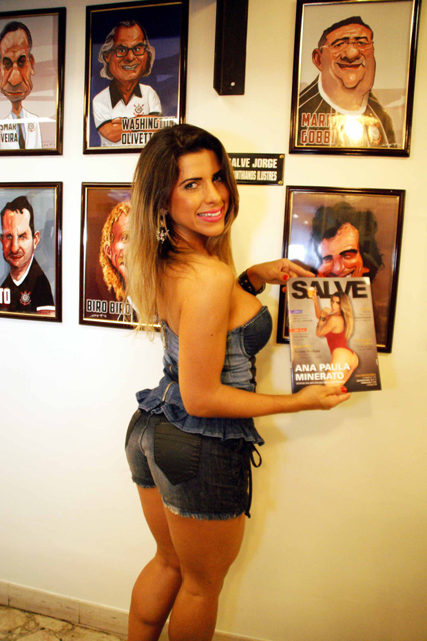 Ana Paula Minerato (Foto: Paduardo / AgNews)