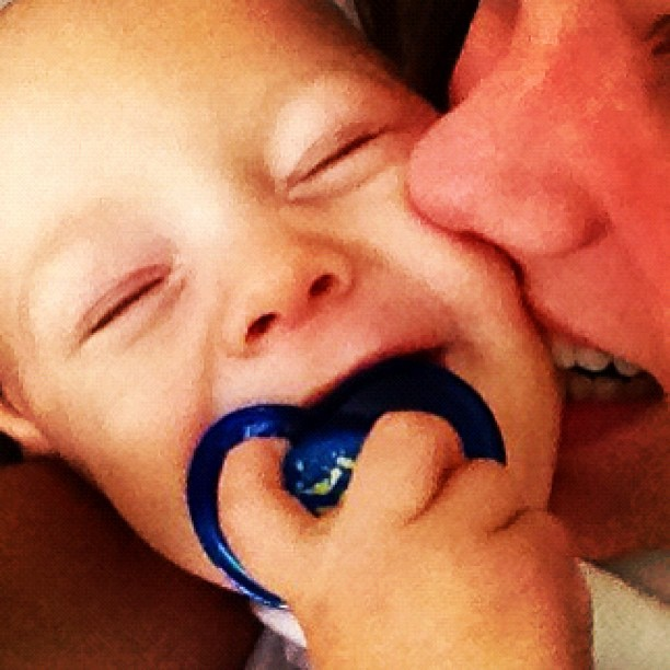 Filho de Neymar com a mãe (Foto: Instagram / Reprodução)