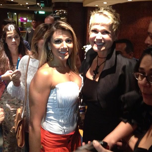 Fabiana, ex-BBB e Xuxa (Foto: Instagram/Reprodução)