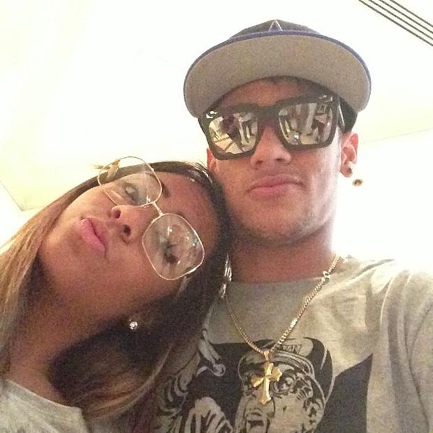 Neymar posta foto com a irmã (Foto: Instagram / Reprodução)