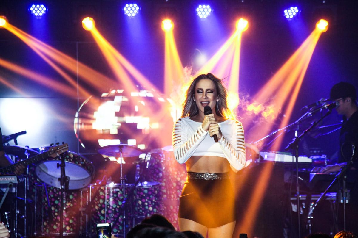 Claudia Leitte em show em São Paulo