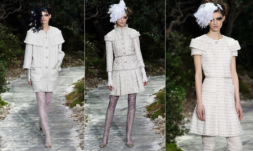 """Depois do """"Jardim das Delícias"""" da Dior, as flores também invadiram a passarela de alta-costura da Chanel"""