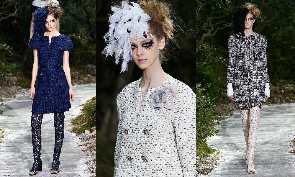 """Para Karl Lagerfeld, o ponto de partida para a coleção foi o conto """"Sonho de uma Noite de Verão"""""""