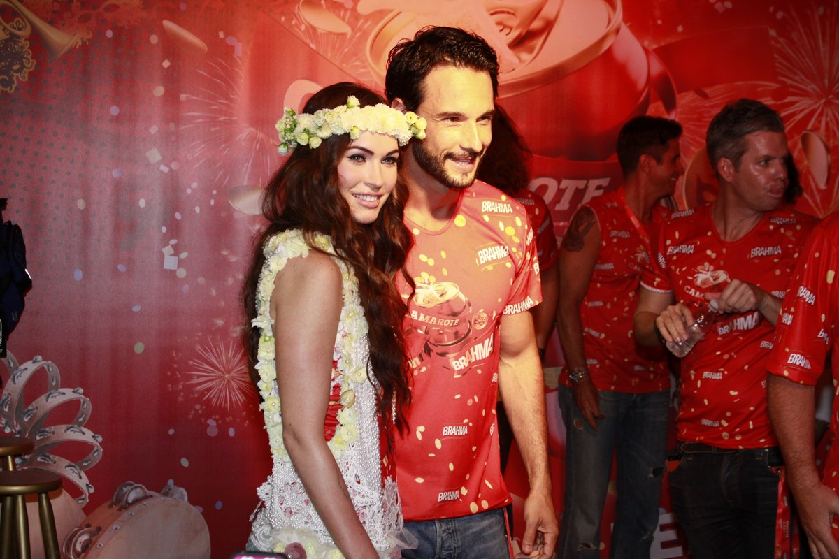 Megan FOx e Rodrigo Santoro